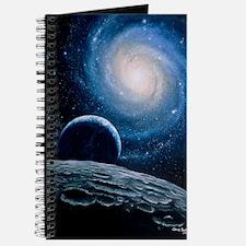 Artwork of a spiral galaxy Journal