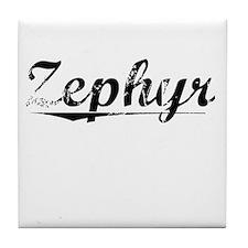 Zephyr, Vintage Tile Coaster
