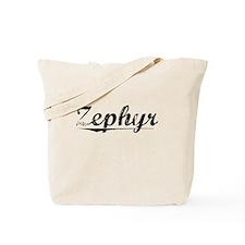 Zephyr, Vintage Tote Bag
