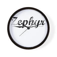Zephyr, Vintage Wall Clock