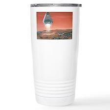 Artwork of exploration module l Travel Mug