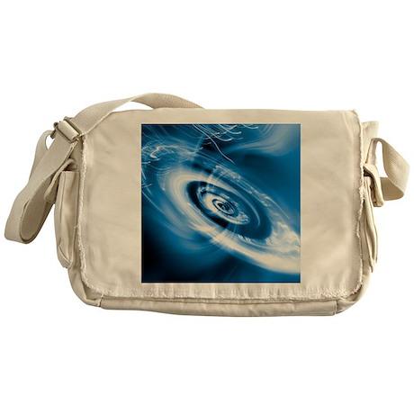 Black hole Messenger Bag