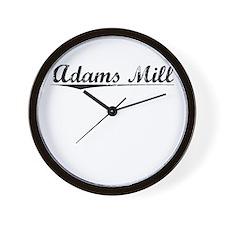 Adams Mill, Vintage Wall Clock