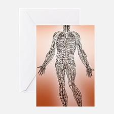 Blood circulation Greeting Card