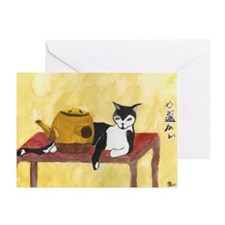 Warmhearted by Andrea Bain Greeting Card