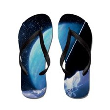 Artwork of Uranus Flip Flops
