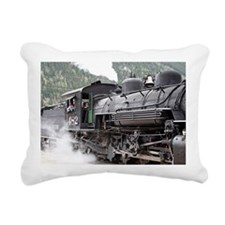 Steam engine: Colorado 3 Rectangular Canvas Pillow