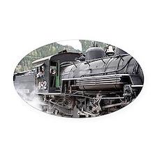 Steam engine: Colorado 3 Oval Car Magnet