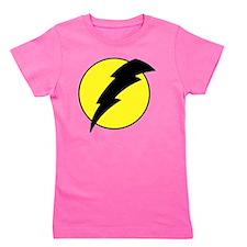 A lightning bolt Girl's Tee