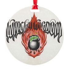 Witchy Wisdom Logo Ornament
