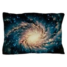 Artwork of the Milky Way, our galaxy Pillow Case