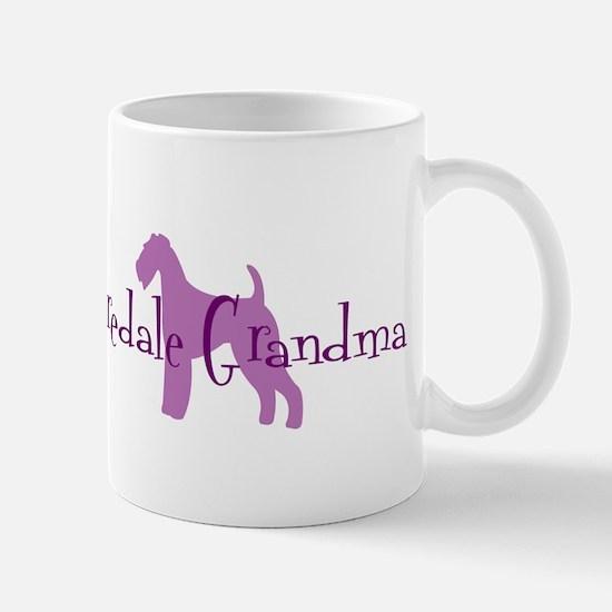 Airedale Grandma Mug
