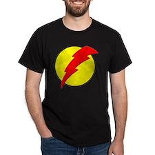 A Red Lightning Bolt T-Shirt