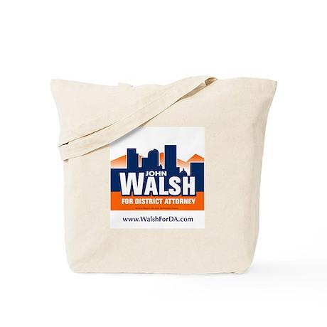 Walsh for DA Tote Bag