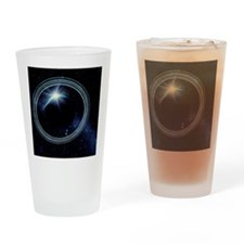 Artwork showing Voyager 2's view of Drinking Glass
