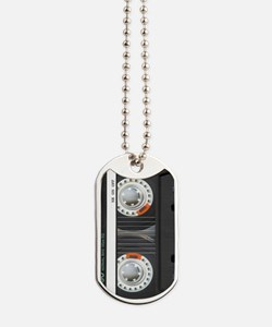 Retro Cassette Tape Dog Tags