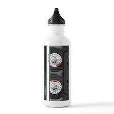 Retro Cassette Tape Water Bottle
