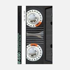 Retro Cassette Tape Sticker (Rectangle)