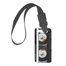 Retro Cassette Tape Luggage Tag