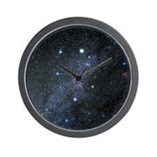 Auriga constellation Wall Clock