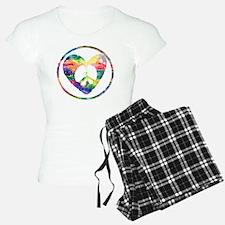 Peace Heart Rainbow C Pajamas