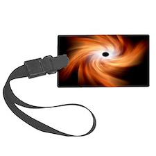 Black hole, artwork Luggage Tag