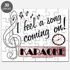 I FEEL A SONG!  KARAOKE Puzzle