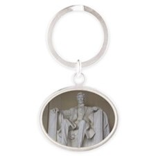 Lincoln Oval Keychain
