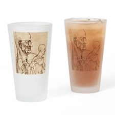 Body anatomy Drinking Glass