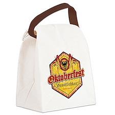 Oktoberfest Octogon Canvas Lunch Bag