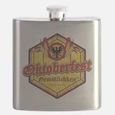 Oktoberfest Octogon Flask