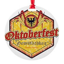Oktoberfest Octogon Ornament