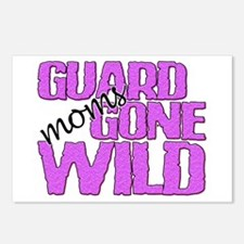 Guard Moms Gone Wild Postcards (Package of 8)