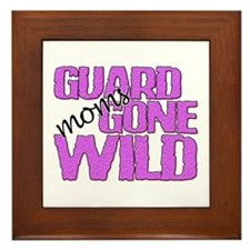 Guard Moms Gone Wild Framed Tile