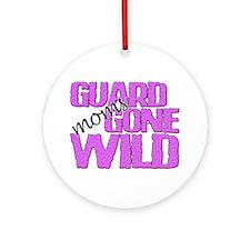 Guard Moms Gone Wild Ornament (Round)