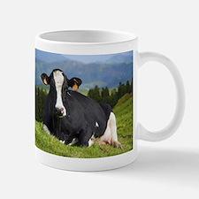 Holstein cow Travel Mugs