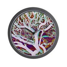 Blood vessels, SEM Wall Clock