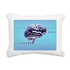 Brain Rectangular Canvas Pillow