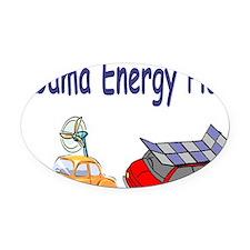 Obama Energy Plan Oval Car Magnet