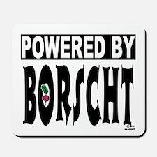 Powered by Borscht Mousepad