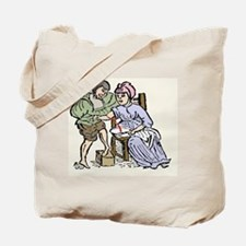 Bloodletting, 12th century artwork Tote Bag