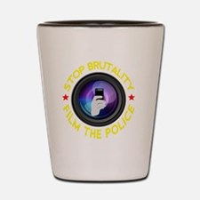 Film The Police Black Shot Glass