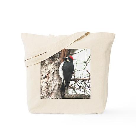 Calif. Redhead Woodpecker Tote Bag