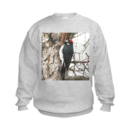 Calif. Redhead Woodpecker Kids Sweatshirt