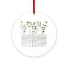 Bone strength Round Ornament