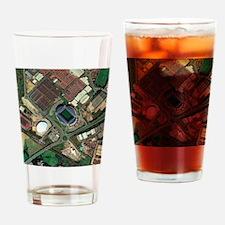 Bolton Wanderers' Reebok stadium, a Drinking Glass