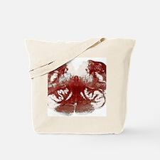 Brainstem cross-section, light micrograph Tote Bag