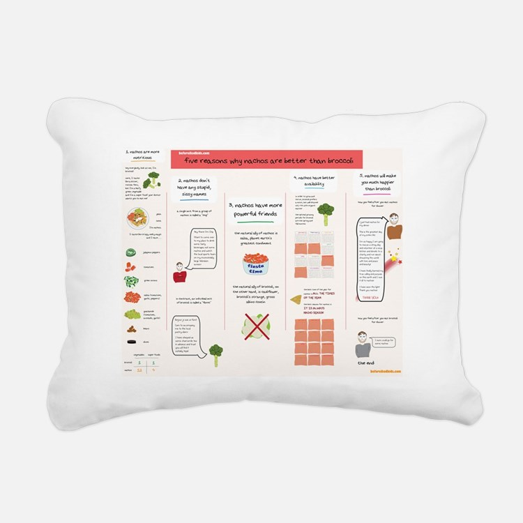 Why Nachos are Better Th Rectangular Canvas Pillow