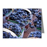Concord grapes Note Cards (20 Pack)