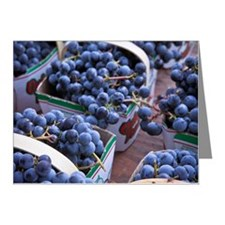 Baskets of concord grapes di Note Cards (Pk of 20)